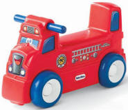 Sit & Roll Fire Truck