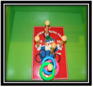 Small ring toss game